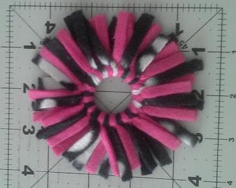 Fleece Cat Toy Ring #7