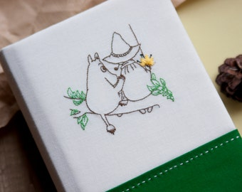 Notebook handmade  Moomin