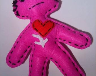 "VooDude ""Jeff"" - Pink VooDoo Doll"