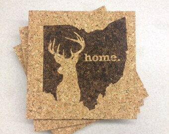 Ohio Home // Hunting // Set of Four