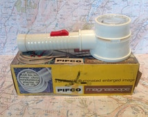 1960s Pifco Magnascope Illuminated Magnifier/Reading Glass/Torch/Slide Viewer.