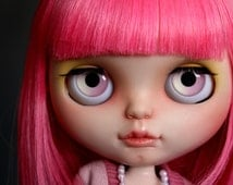 STRAWBERRY 'N CREAM - Pastel Candy Blythe Eyechips Collection