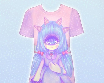 "Pink ""Pastel-Fairy"" T-Shirt"