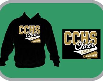 CCHS cheer hoodie