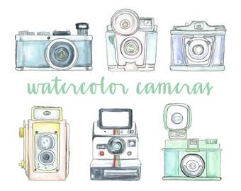Camera clip art   Etsy