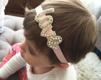 baby valentines day headband, baby valentine's day, love headband