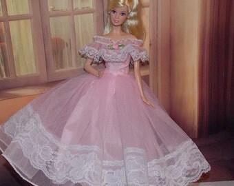 New Handmade Pink Ballgown.   Girl Gift