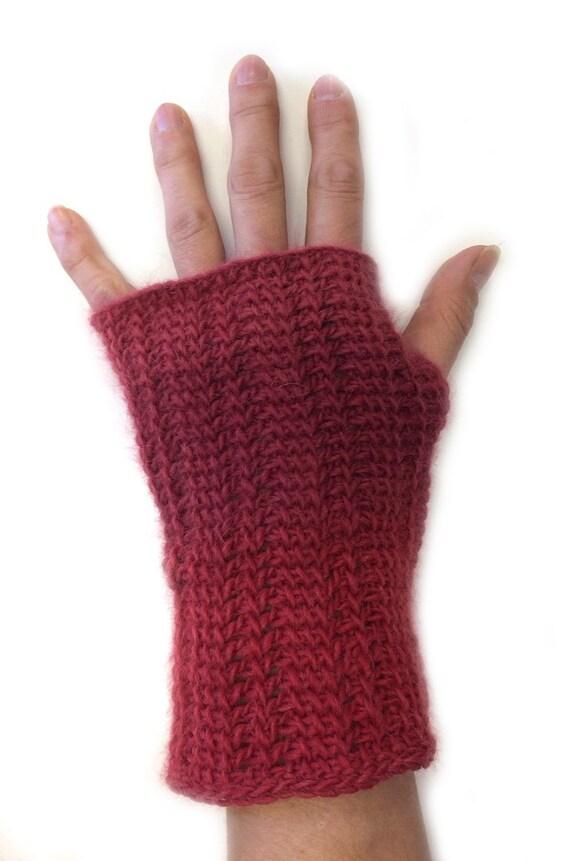Tunisian Crochet Fingerless Gloves Crochet Patterns Patterns Kid
