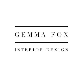 Typographic Clean Modern Logo Design