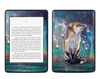 Amazon Kindle Skin - There is a Light by Mat Miller - Sticker Decal - Fits Paperwhite, Fire, Voyage, Touch, Oasis