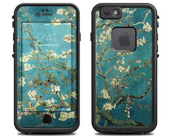 Skin for LifeProof iPhone Case - Blossoming Almond Tree by Vincent van Gogh - Sticker Decal - 7, 6/6S, Plus, 5/5S/SE, 5C, 4/4S, Fre, Nuud