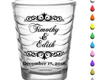 """144 """"Simple Names"""" Custom Shot Glasses"""