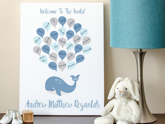 alternative whale baby shower sign baby shower sign in baby shower