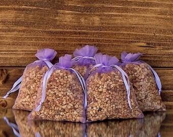 Spring Lilac Scented Sachet (Set of 5) * Wedding Favor * Gift * Potpourri Sachet * Floral Scented Sachet