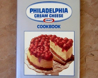 Vintage Philadelphia Cream Cheese Cookbook, Kraft Philadelphia Brand Cream Cheese Cookbook