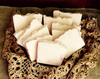 Jasmine Soap,Delicate  Intoxicating Floral Scent, Handmade Soothing Gift from God