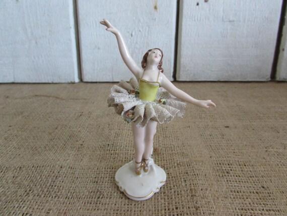 Ballerina Figurines: LOT OF TWO CYBIS PORCELAIN BALLERINA