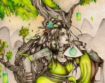 Original 'Gaia's Envy' Painting