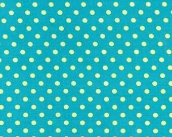 Michael Miller Fabrics - Dumb Dot Lagoon- CX2490-LAGO-D