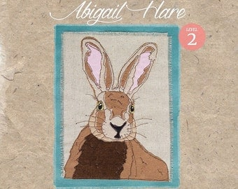 Workshop in a Bag, Abigail Hare, Freehand Machine Embroidery Textile Art Kit, Level 2