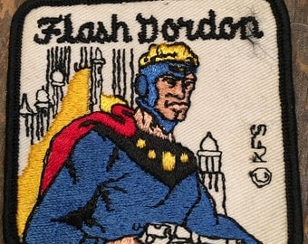 Vintage 1970's Flash Gordon Patch-Never Used-Deadstock
