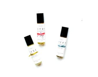 Aromatherapeutic Essential Oil Perfume
