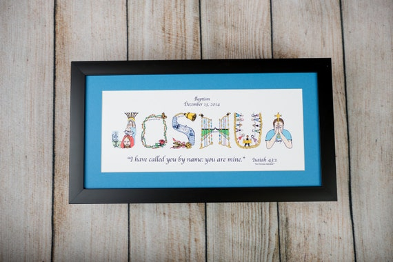 Baptism Gifts For Boys Personalized Christian Gifts Christian