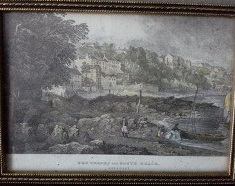 small guernsey framed print