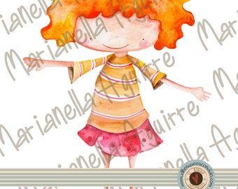 Anne.DIGITAL PAPER DOLL!!