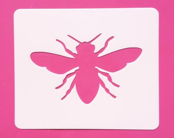 Bee Stencil Reusable Template Mylar