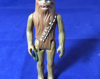 1977 Vintage Chewbacca Kenner Mini Action Figure, 1977 Star Wars Action Figure