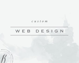 Custom Website Design // Web Design Package