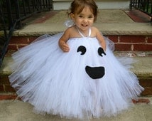 Little Ghost Costume, Cute Ghost Costume, Baby Ghose Costume, Adorable Baby Costume, Baby Halloween Costume, Tutu Halloween Costume, Ghost