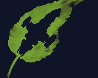 Leaf on the Wind T-shirt - Firefly Serenity Browncoat fan tshirt