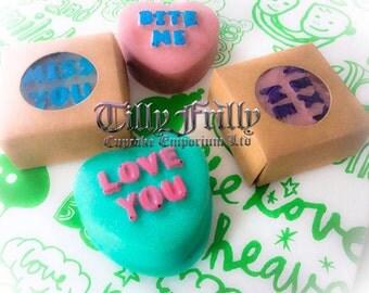 VALENTINE'S LOVE HEART Chocolate Dipped Oreos