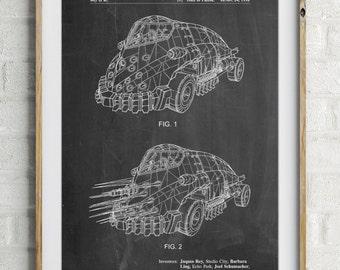 Batman and Robin Mr. Freeze Car Patent Poster, Batman Villan, Batman Art, Movie Wall Art, Batman Room Decor, PP0605