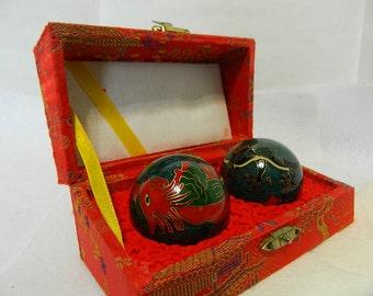 Vintage Dragon Musical Balls
