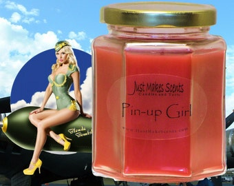 Pin Up Girl Scented Blended Soy Candle - Free Shipping on Orders of 6 or More with Coupon Code