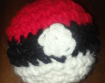 Pokemon Inspired Pokeball catnip toys(2 toys)