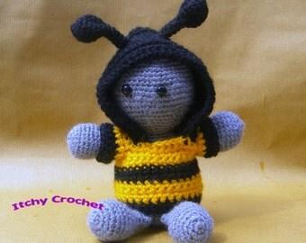 Inchoate summer hoodies, bumble bee, ladybird, ladybug, butterfly, dress up.