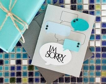 I'm Sorry Card