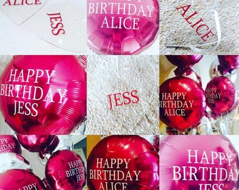 Personalised Foil Balloon In A Box
