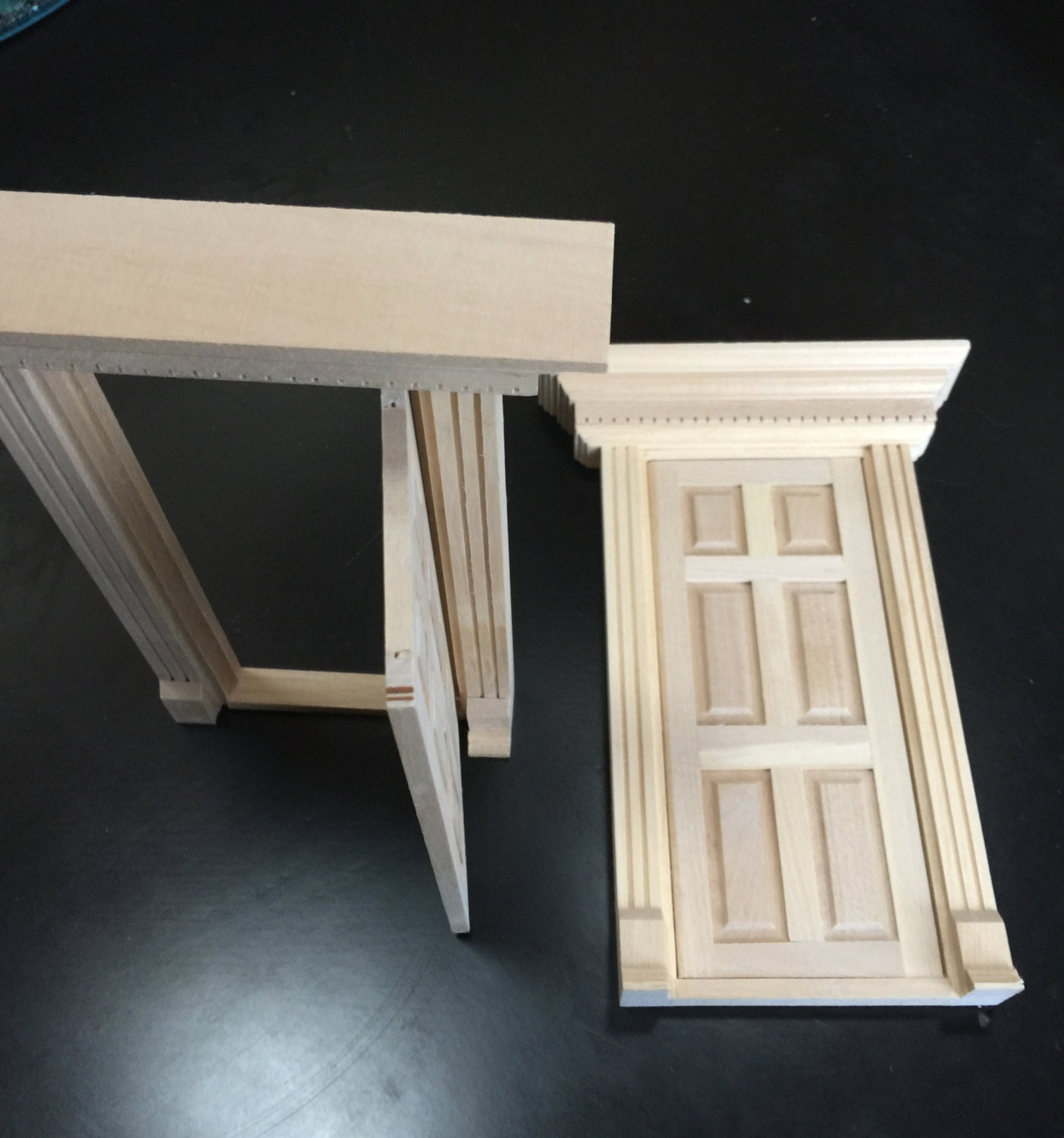 Unfinished fairy door with key and fairy dust fairy doors for Unfinished fairy door