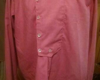 Men's size M/L frontier pioneer civil war era reenactment costume shirt. 1800s