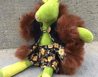 Vintage Cornelloki Stuffed Animal