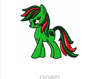 My Little Pony Embroidery Design INSTANT DOWNLOAD