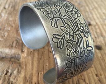 Salisbury Pewter Co. December Cuff Bracelet