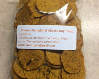 Pumpkin Grain Free Dog Treats Pumpkin and Cheese Dog Biscuits