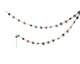 Halloween Garland - Halloween Decor - Halloween Party - Multicolored Garland - Party Garland - Made to Order