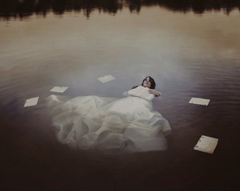 Sinking Stories- print